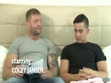 Colby Breaks Him In Part 1 - Colby Jansen & Jacob Ladder - DMH - Drill My Hole