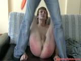 Excruciating bdsm butt torture video