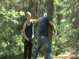 Tied up twink tolerates bdsm beatings