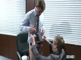 Nervous Intern - TGO - The Gay Office - Tom Faulk & Connor Maguire