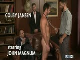 Trying Out The Goods - JO - Jizz Orgy - Colby Jansen - Mike De Marko - John Magnum - Tommy Defendi