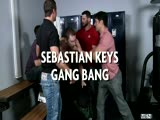 Sebastian Keys Gang Bang - JIZZ ORGY - Rafael Alencar, Johnny Rapid, Tony Paradise, Spencer Fox, Sebastian Keys