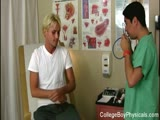 Angel comes in to the doctor to get his full checkup