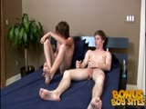 Kodi, Liam In the Studio to Play with each others cocks